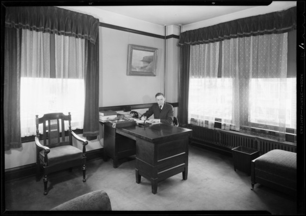 Offices and employees, Lumbermens Casualty, Southern California, 1931