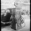 Grease rack, Gray's garage, Hollywood, Los Angeles, CA, 1931