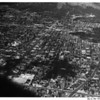 Aerial view of the City of Glendale looking north from Chevy Chase Drive looking between Central Avenue (left) and Glendale Avenue (right)