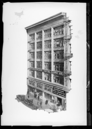 Building on Broadway, Dohrmann Commercial Co., Los Angeles, CA, 1931
