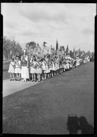 Costume dances, Exposition Park, Los Angeles, CA, 1931