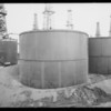 Tanks at Signal Hill, CA, 1929