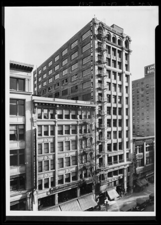 Silversmith Building, Southern California, 1925