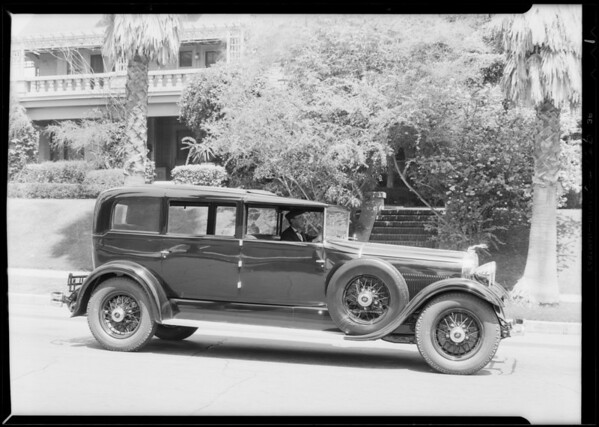 Special built for Mr. Miner, Southern California, 1930