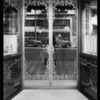 Doorway & store, Slavicks Jewelry Co., Southern California, 1929
