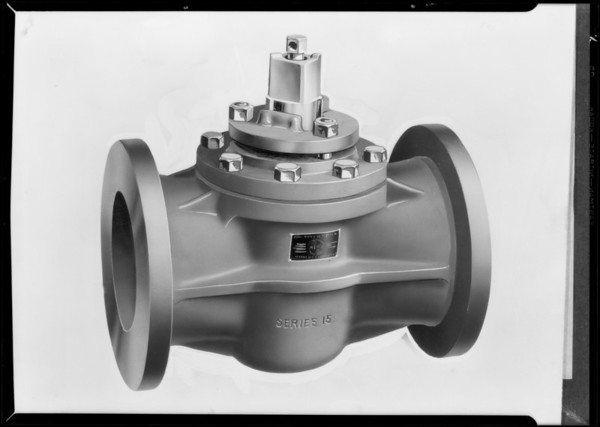 Valves, Merco Nordstrom Valve Co., Southern California, 1931