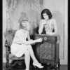 Rola radio publicity shots, Southern California, 1929