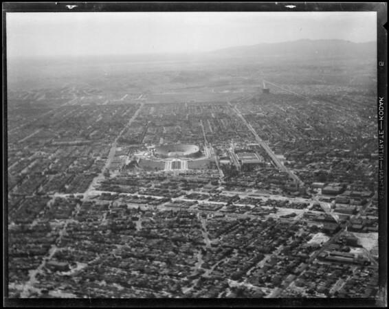Air views, Los Angeles, CA, 1931