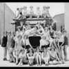 Passenger bus at First National Studio, Southern California, 1929