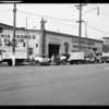 Fleet of trucks, California Wine Tonic Co., Los Angeles, CA, 1931
