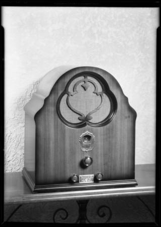 Table model, Trojan Radio Corporation, Southern California, 1931