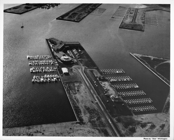 Aerial view of Marina Del Ray