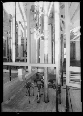 Plumbing, County Hospital, Los Angeles, CA, 1931