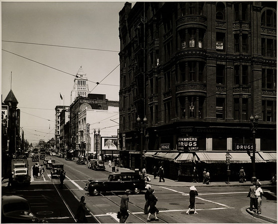 Facing north on Spring Street from West Third Street in Downtown Los Angeles