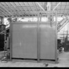 Sterilizer for boxes, Southern California, 1931