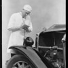"""Doc"" McKean & stethoscope, Southern California, 1930"