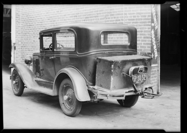 Chevrolet at Western Mechanical works, Southern California, 1931