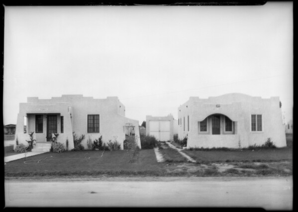 Cordary Street, Southern California, 1926