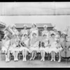 Gardena Girls' Band & dancers, Southern California, 1929