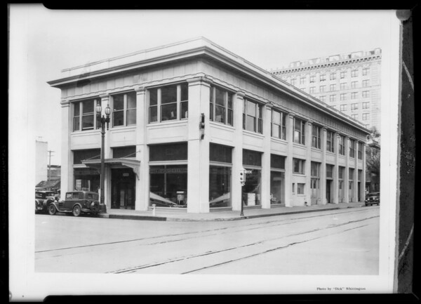 Building with wires out etc., Southern California, 1931