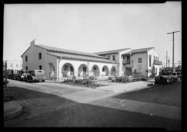 Exposition Park shots, Los Angeles, CA, 1929