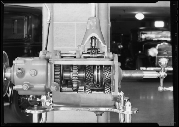 Transmission model, Graham-Paige, Southern California, 1931