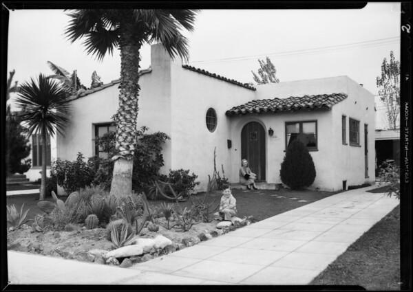 Publicity for sale, Leimert Park, Los Angeles, CA, 1931