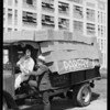 Truck load of Parfay, Southern California, 1931