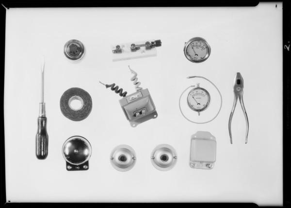 Small motor parts, etc., Logan & Stebbins, Southern California, 1931