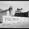 Interiors & exteriors of Premier Mills, Los Angeles, CA, 1929