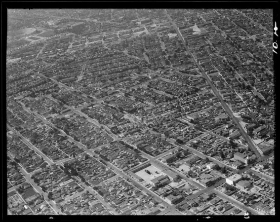 Air views, Los Angeles, CA, 1931