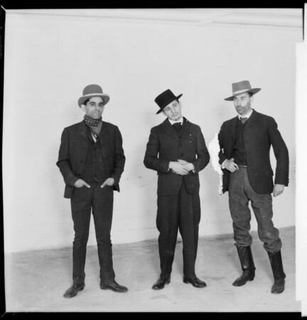 Characters in 'Cimmarron', Southern California, 1931
