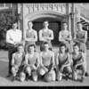 Basketball team, Mr. Lambert, Manager, Southern California, 1925