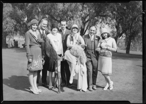 Hollywood breakfast club, Southern California, 1929