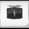 Belt buckle for 'Speedy Dado', Southern California, 1931