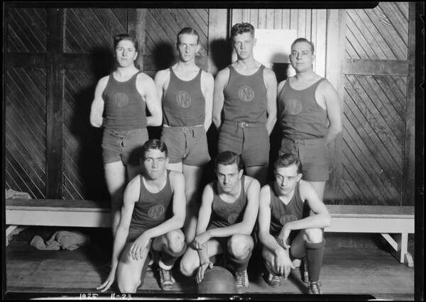 First National Bank basketball team, Southern California, 1925