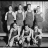 First National Bank basketball team, Southern California, 1925