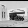 Shell station at Wilshire Boulevard & Wetherly Drive, northwest corner, Beverly Hills, CA, 1931