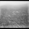Air views from Goodyear blimp, Los Angeles, CA, 1931