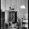 Albion model radio cabinet, Invincible Radio, Southern California, 1929
