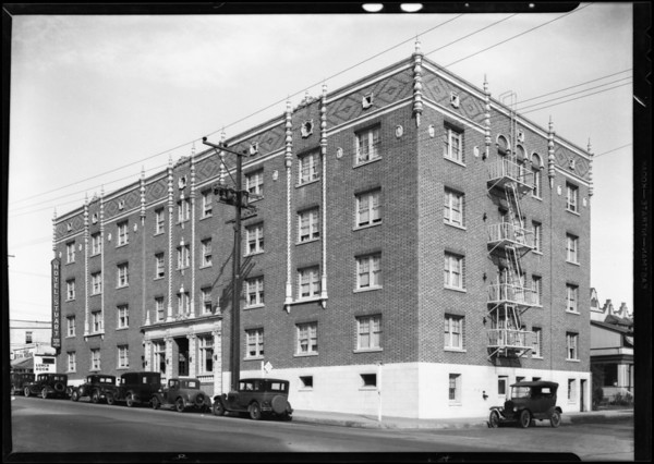 Apartment buildings, California Reserve Co., Southern California, 1931
