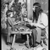 Indian cobbler, Mission play, Southern California, 1930