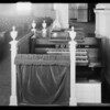 Organ in First Church of Christ Scientist, Southern California, 1929