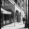 Sidewalk in front of 440 South Broadway, Los Angeles, CA, 1929