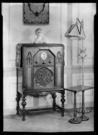 Radio Cabinet etc., Southern California, 1929