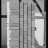 Shingle sample board, Southern California, 1929