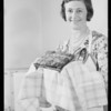 Mrs. Thomas Leavey-user of Parfay, Southern California, 1931