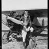 Mr. Walt in plane, Southern California, 1931