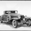 Views of Cord Cabriolet, Southern California, 1930