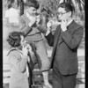 Japanese harmonica player, Los Angeles playground department, Los Angeles, CA, 1930